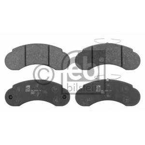 FEBI BILSTEIN 16250 Комплект тормозных колодок, дисковый тормоз Мерседес 100
