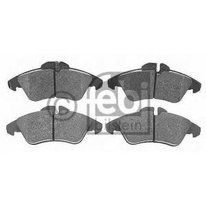 FEBI BILSTEIN 16251 Набор тормозных накладок Mercedes-Benz PKW (пр-во FEBI)