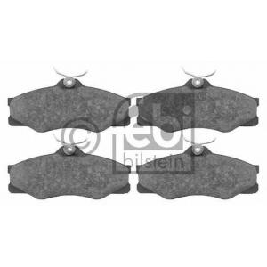 FEBI BILSTEIN 16298 Комплект тормозных колодок, дисковый тормоз