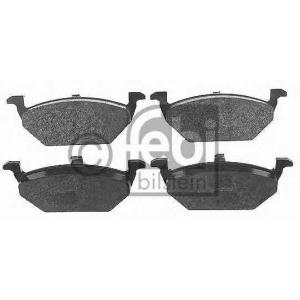 FEBI BILSTEIN 16328 Комплект тормозных колодок, дисковый тормоз