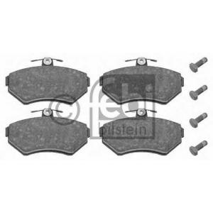 FEBI 16336 Тормозные колодки передние