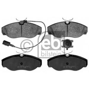 FEBI BILSTEIN 16391 Комплект тормозных колодок, дисковый тормоз