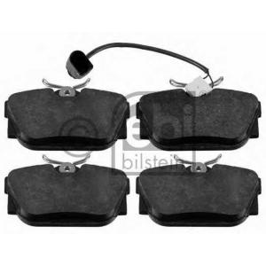 FEBI BILSTEIN 16412 Комплект тормозных колодок, дисковый тормоз