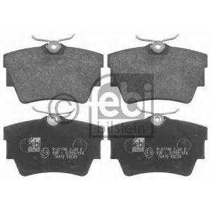 FEBI BILSTEIN 16472 Комплект тормозных колодок, дисковый тормоз