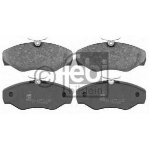 FEBI BILSTEIN 16473 Комплект тормозных колодок, дисковый тормоз