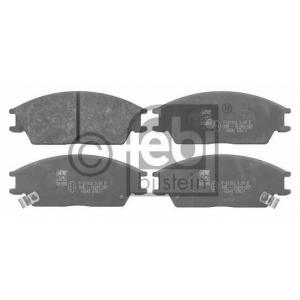 FEBI BILSTEIN 16542 Комплект тормозных колодок, дисковый тормоз Хюндай Понни