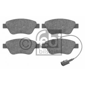 FEBI BILSTEIN 16555 Комплект тормозных колодок, дисковый тормоз