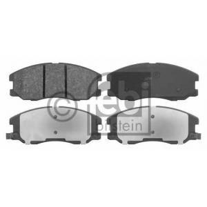 FEBI 16632 Комплект тормозных колодок, дисковый тормоз