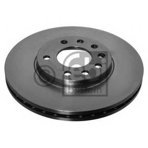 FEBI 17211 АКЦІЯ!!! Гальмівний диск Opel Astra / Opel Zafira / Opel Meriva