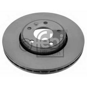 Тормозной диск 22698 febi - OPEL VIVARO c бортовой платформой/ходовая часть (E7) c бортовой платформой/ходовая часть 1.9 Di