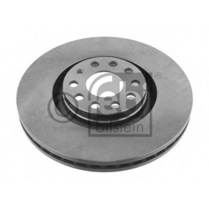 FEBI 22950 FEBI AUDI Тормозной диск передн.A4,A6