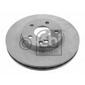 FEBI 24076 Тормозной диск