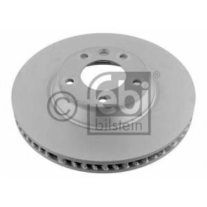 FEBI BILSTEIN 26653 Диск тормозной AUDI Q7, VW TOUAREG передн., вент. (пр-во Febi)