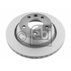 Тормозной диск 28164 febi - VW TOUAREG (7LA, 7L6, 7L7) вездеход закрытый 3.2 V6