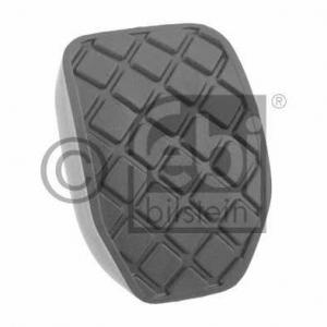 Педальные накладка, педаль тормоз; Накладка на пед 28636 febi - AUDI Q7 (4L) вездеход закрытый 4.2 FSI