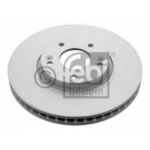 Тормозной диск 31317 febi - HYUNDAI i30 (GD) Наклонная задняя часть 1.4