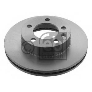 FEBI 39346 Тормозной диск передний Movano3/Master3 302x28x5
