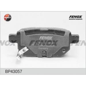 FENOX BP43057 Bp43057 колодки дисковые задние!\ toyota auris/yaris 1.0/1.4vvt-i/2.2d 06>