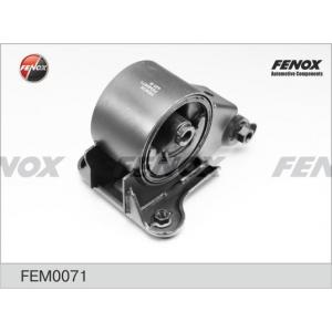 FENOX FEM0071 Опора двигателя задняя nissan primera 01-07, x-trail 00-06 fem0071