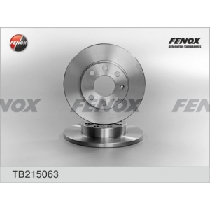 FENOX tb215063 Диск тормозной