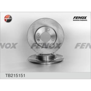 FENOX tb215151 Диск тормозной