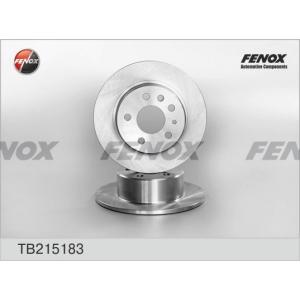 FENOX tb215183 Диск тормозной