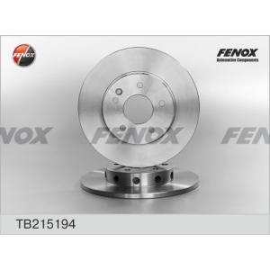 FENOX tb215194 Диск тормозной