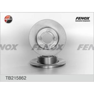 FENOX tb215862 Диск тормозной