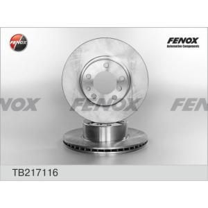 FENOX tb217116 Диск тормозной
