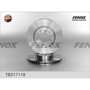 FENOX tb217119 Диск тормозной передний вентилируемый