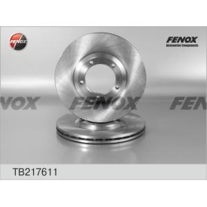 FENOX TB217611 Тормозной диск Хюндай Н100