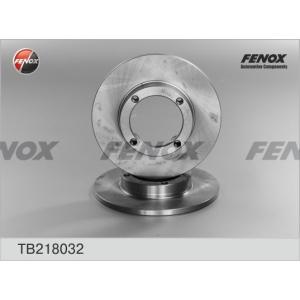 FENOX TB218032 Тормозной диск Дэу Тико
