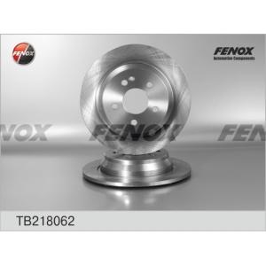 FENOX tb218062 Диск тормозной задний