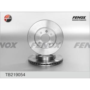 FENOX TB219054 Диск тормозной перед.(1шт.) TB219054  (Fenox)