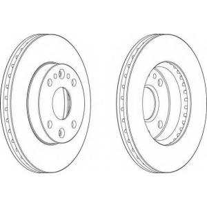 FERODO DDF1391 Тормозной диск Ferodo