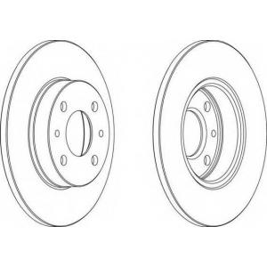 FERODO DDF140 Тормозной диск Ferodo