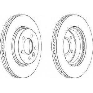 FERODO DDF1430 Тормозной диск Ferodo