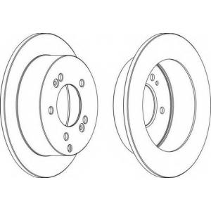 FERODO DDF1447 Тормозной диск Ferodo