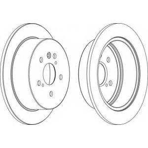 FERODO DDF1545 Тормозной диск Ferodo