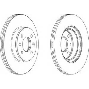 FERODO DDF1636 Тормозной диск Ferodo
