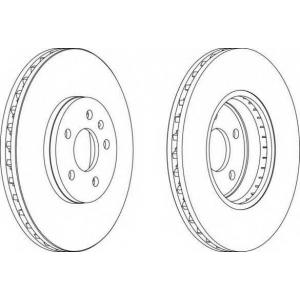 FERODO DDF1664 Тормозной диск Ferodo