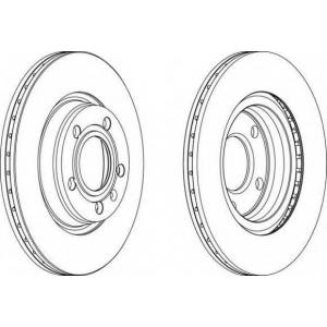 FERODO DDF1708 Тормозной диск Ferodo