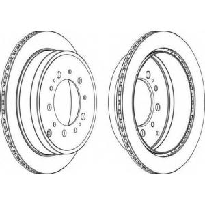 FERODO DDF1799 Тормозной диск Ferodo