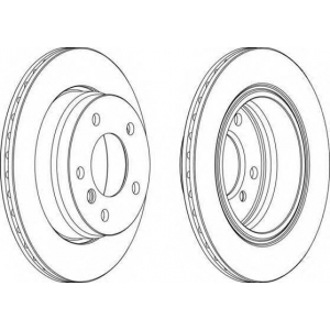 FERODO DDF831 Тормозной диск