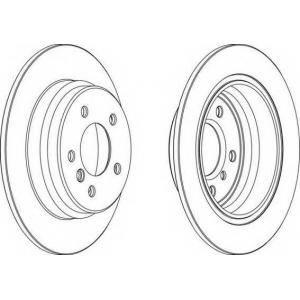 FERODO DDF835 Тормозной диск Ferodo