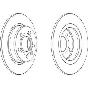 FERODO DDF847 Гальмівний диск