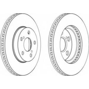 FERODO DDF992 Тормозной диск