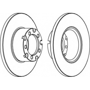 FERODO FCR116A Тормозной диск Ferodo