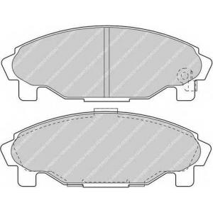 FERODO FDB1009 Комплект тормозных колодок, дисковый тормоз Дайхатсу