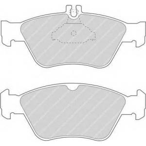 Комплект тормозных колодок, дисковый тормоз fdb1049 ferodo - MERCEDES-BENZ C-CLASS (W202) седан C 280 (202.028)